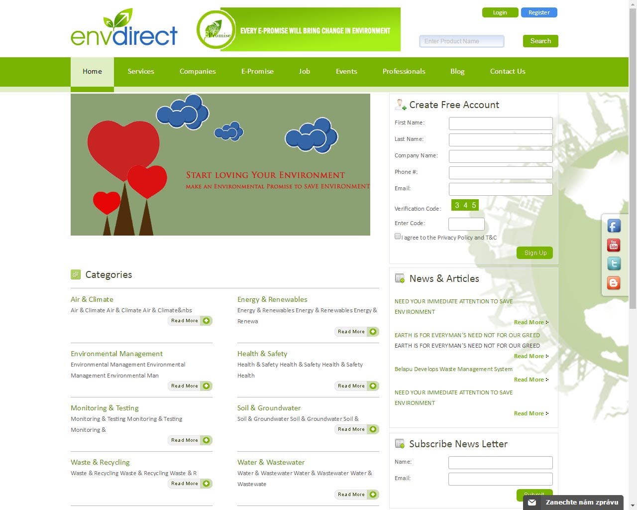 env drirect