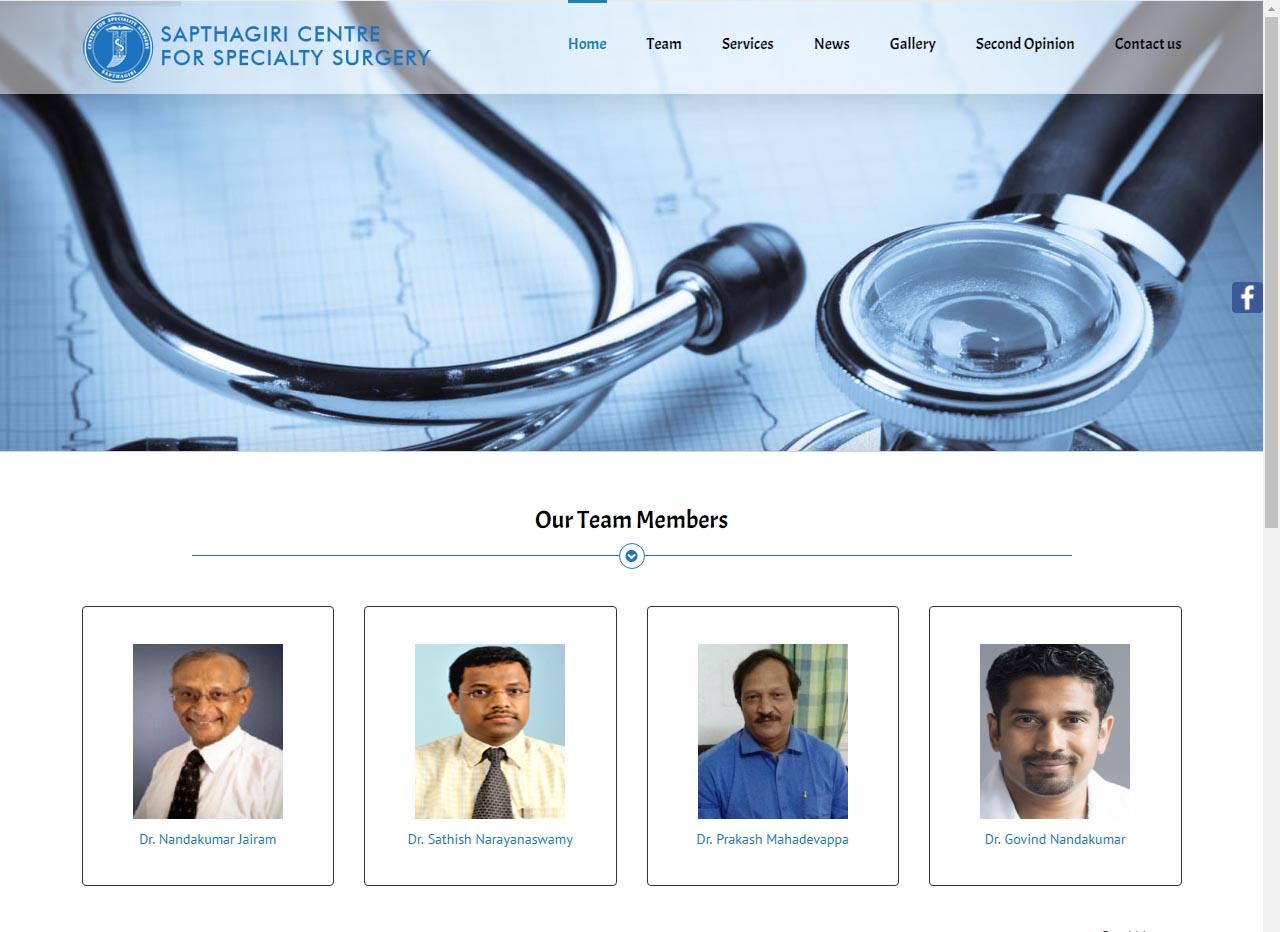 Sapthagiri Speciality Surgery