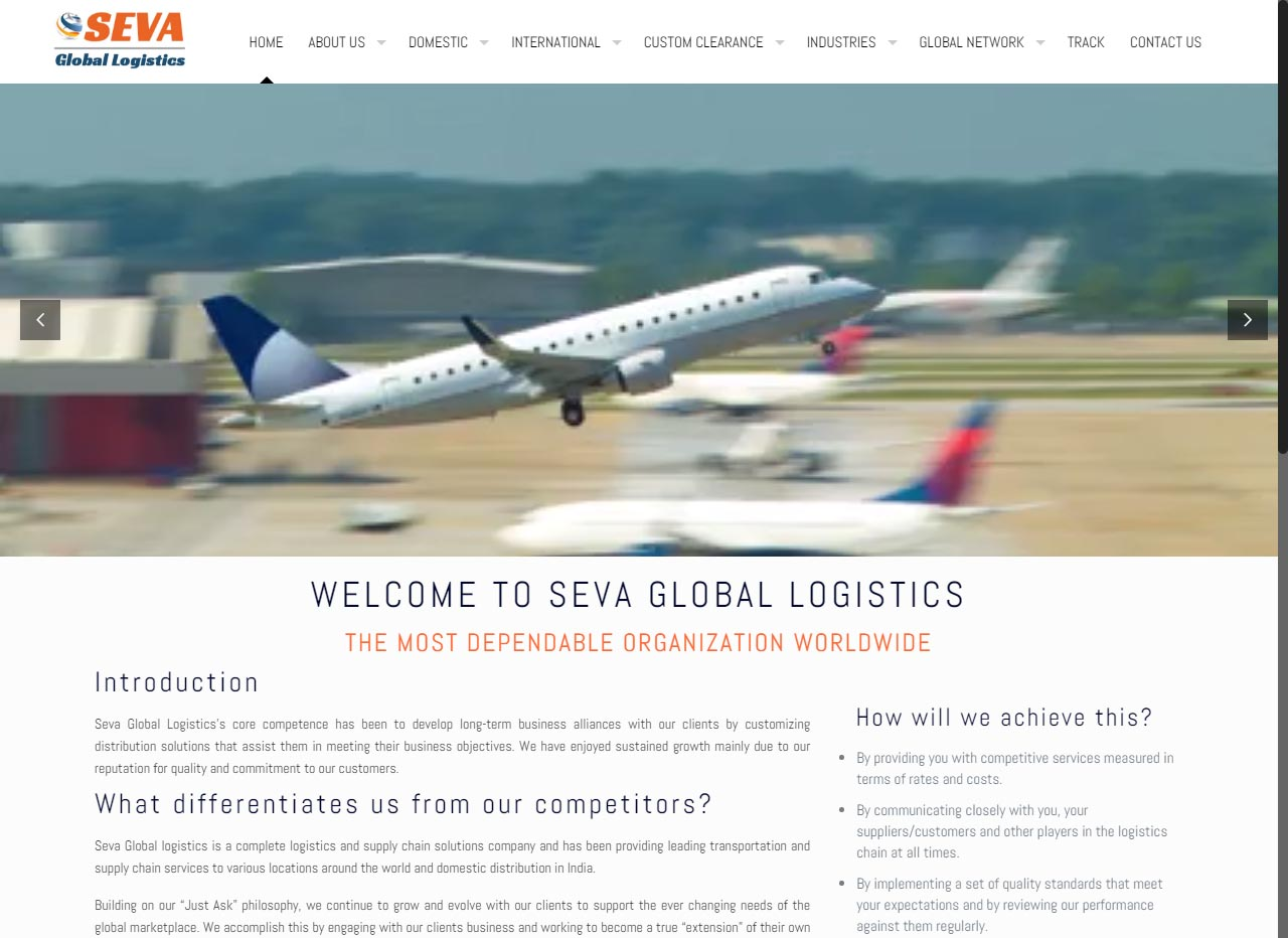 Seva Global Logistics