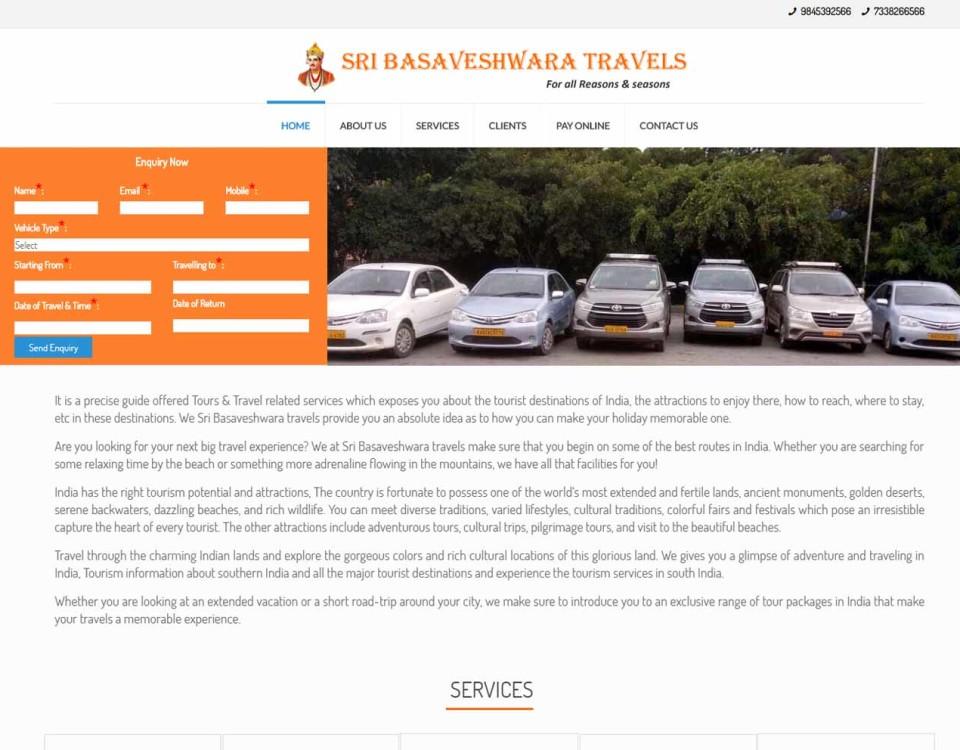 Sribasaveshwara-travels